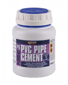 Everbuild P16 Plumbers PVC Pipe Cement 250ML