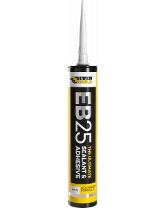 Everbuild EB25 The Ultimate Sealant And Adhesive White 300ML