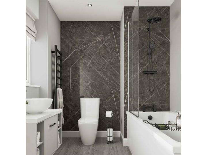 Multipanel Neutrals Collection Dove Grey - Wall Panel image